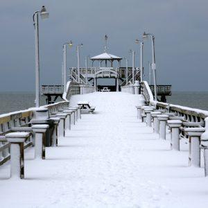 snowy pier sc
